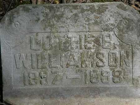 WILLIAMSON, LOTTIE B. - Marion County, Ohio   LOTTIE B. WILLIAMSON - Ohio Gravestone Photos