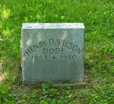 WILSON, HENRY D. - Marion County, Ohio | HENRY D. WILSON - Ohio Gravestone Photos
