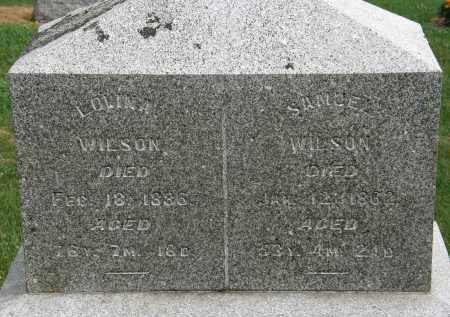 WILSON, LOVINA - Marion County, Ohio | LOVINA WILSON - Ohio Gravestone Photos