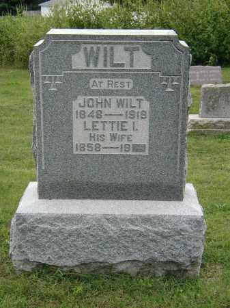 WILT, JOHN - Marion County, Ohio | JOHN WILT - Ohio Gravestone Photos