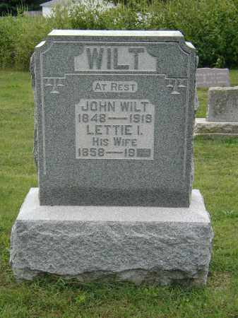 WILT, LETTIE - Marion County, Ohio | LETTIE WILT - Ohio Gravestone Photos