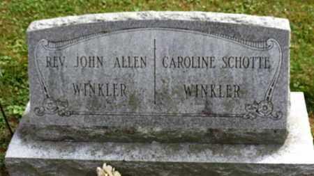 WINKLER, CAROLINE - Marion County, Ohio | CAROLINE WINKLER - Ohio Gravestone Photos