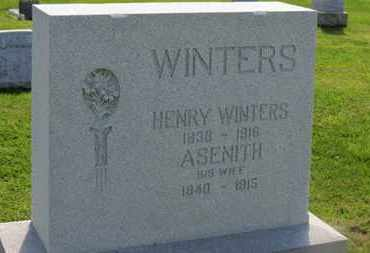 WINTERS, HENRY - Marion County, Ohio | HENRY WINTERS - Ohio Gravestone Photos