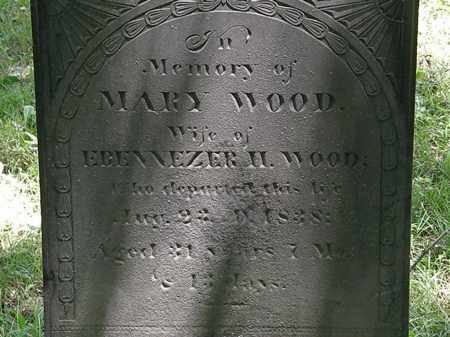 WOOD, EBENNEZER H. - Marion County, Ohio | EBENNEZER H. WOOD - Ohio Gravestone Photos