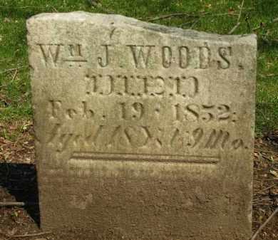 WOODS, WM. J. - Marion County, Ohio | WM. J. WOODS - Ohio Gravestone Photos