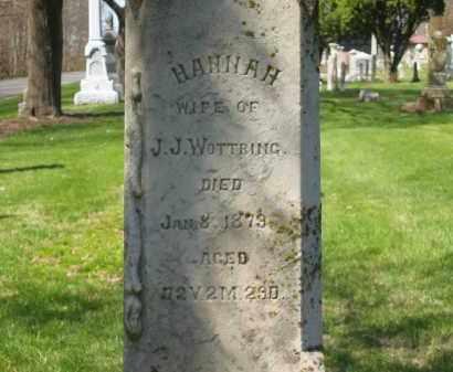 WOTTRING, J.J. - Marion County, Ohio | J.J. WOTTRING - Ohio Gravestone Photos