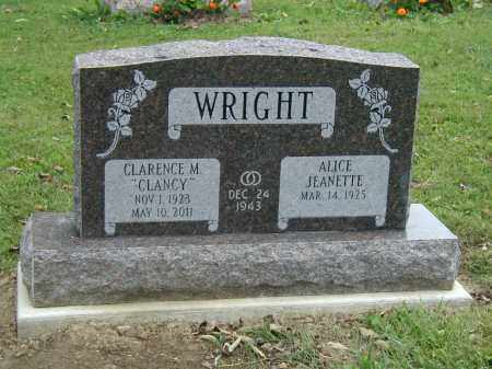 WRIGHT, ALICE - Marion County, Ohio | ALICE WRIGHT - Ohio Gravestone Photos