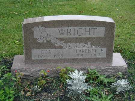 WRIGHT, EDA - Marion County, Ohio | EDA WRIGHT - Ohio Gravestone Photos