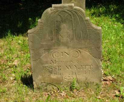 WYATT, JESSE - Marion County, Ohio | JESSE WYATT - Ohio Gravestone Photos