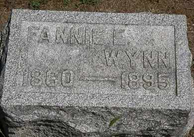 WYNN, FANNIE E. - Marion County, Ohio | FANNIE E. WYNN - Ohio Gravestone Photos