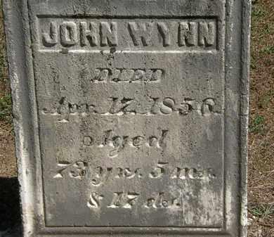 WYNN, JOHN - Marion County, Ohio | JOHN WYNN - Ohio Gravestone Photos