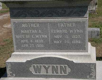 WYNN, MARTHA A. - Marion County, Ohio | MARTHA A. WYNN - Ohio Gravestone Photos