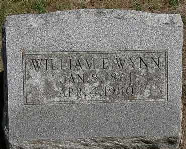 WYNN, WILLIAM E. - Marion County, Ohio | WILLIAM E. WYNN - Ohio Gravestone Photos