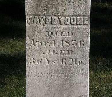 YOUNG, JACOB - Marion County, Ohio | JACOB YOUNG - Ohio Gravestone Photos