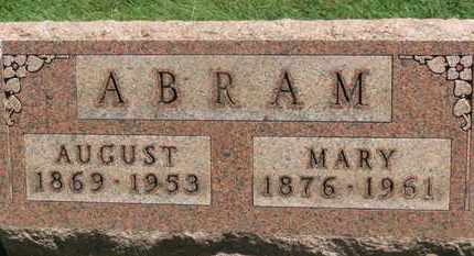 ABRAM, AUGUST - Medina County, Ohio | AUGUST ABRAM - Ohio Gravestone Photos