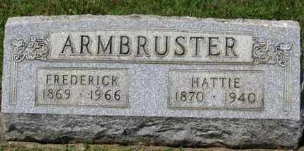 ARMBRUSTER, HATTIE - Medina County, Ohio | HATTIE ARMBRUSTER - Ohio Gravestone Photos