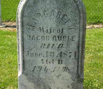 AUBLE, MARGARET J. - Medina County, Ohio | MARGARET J. AUBLE - Ohio Gravestone Photos