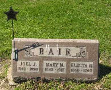 BAIR, MARY M. - Medina County, Ohio | MARY M. BAIR - Ohio Gravestone Photos