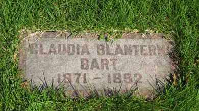 BART, CLAUDIA - Medina County, Ohio | CLAUDIA BART - Ohio Gravestone Photos