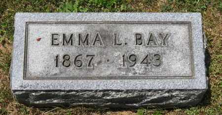 BAY, EMMA L. - Medina County, Ohio | EMMA L. BAY - Ohio Gravestone Photos
