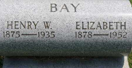 BAY, ELIZABETH - Medina County, Ohio | ELIZABETH BAY - Ohio Gravestone Photos
