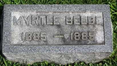 BEEBE, MYRTLE - Medina County, Ohio | MYRTLE BEEBE - Ohio Gravestone Photos