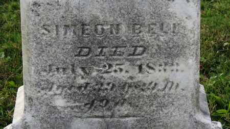 BELL, SIMEON - Medina County, Ohio | SIMEON BELL - Ohio Gravestone Photos