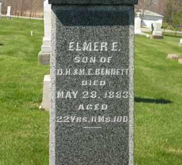 BENNETT, ELMER E. - Medina County, Ohio | ELMER E. BENNETT - Ohio Gravestone Photos