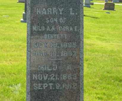 BENNETT, HARRY L. - Medina County, Ohio | HARRY L. BENNETT - Ohio Gravestone Photos