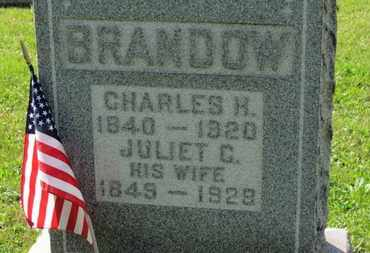 BRANDOW, JULIET C. - Medina County, Ohio | JULIET C. BRANDOW - Ohio Gravestone Photos