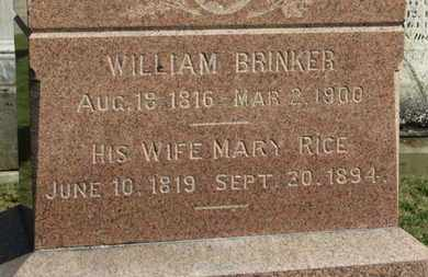 BRINKER, WILLIAM - Medina County, Ohio | WILLIAM BRINKER - Ohio Gravestone Photos