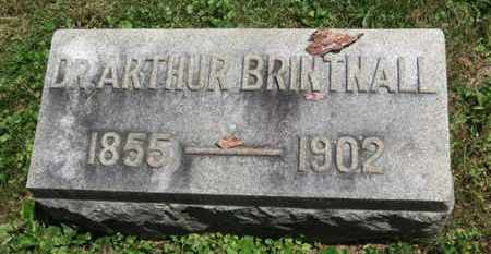 BRINTNALL, ARTHUR - Medina County, Ohio | ARTHUR BRINTNALL - Ohio Gravestone Photos