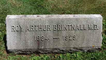 BRINTNALL, ROY ARTHUR - Medina County, Ohio | ROY ARTHUR BRINTNALL - Ohio Gravestone Photos