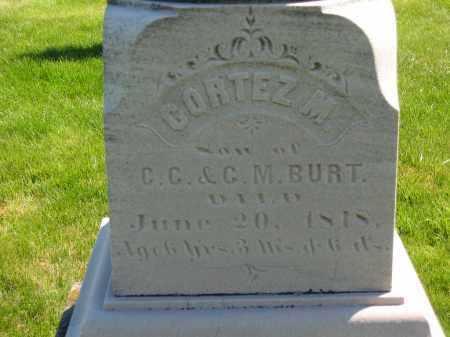 BURT, CORTEZ M. - Medina County, Ohio | CORTEZ M. BURT - Ohio Gravestone Photos