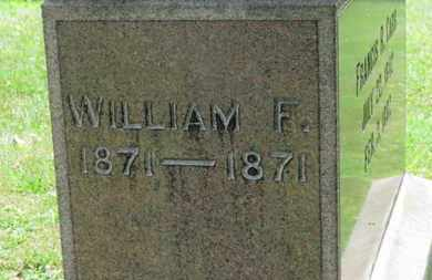 CARR, WILLIAM F. - Medina County, Ohio | WILLIAM F. CARR - Ohio Gravestone Photos
