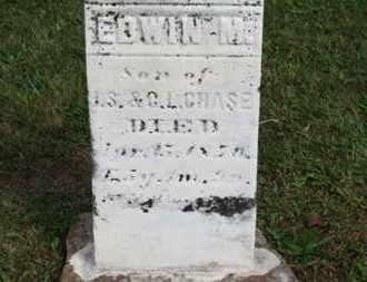 CHASE, EDWIN M. - Medina County, Ohio | EDWIN M. CHASE - Ohio Gravestone Photos