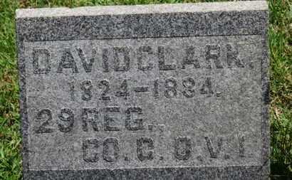 CLARK, DAVID - Medina County, Ohio | DAVID CLARK - Ohio Gravestone Photos