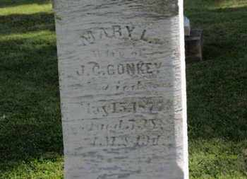 CONKEY, MARY L. - Medina County, Ohio | MARY L. CONKEY - Ohio Gravestone Photos