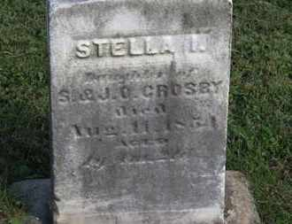 CROSPY, STELLA - Medina County, Ohio | STELLA CROSPY - Ohio Gravestone Photos