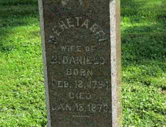 DANIELS, MEHETABEL - Medina County, Ohio | MEHETABEL DANIELS - Ohio Gravestone Photos
