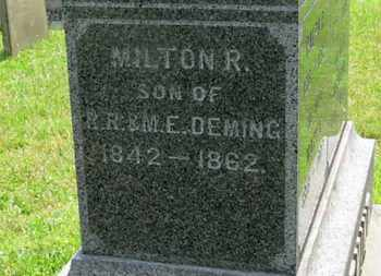 DEMING, MILTON R. - Medina County, Ohio | MILTON R. DEMING - Ohio Gravestone Photos