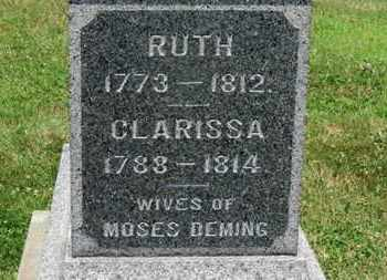 DEMING, CLARISSA - Medina County, Ohio | CLARISSA DEMING - Ohio Gravestone Photos