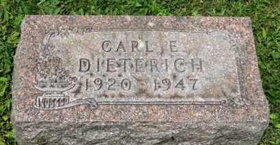 DIETERICH, CARL E. - Medina County, Ohio | CARL E. DIETERICH - Ohio Gravestone Photos