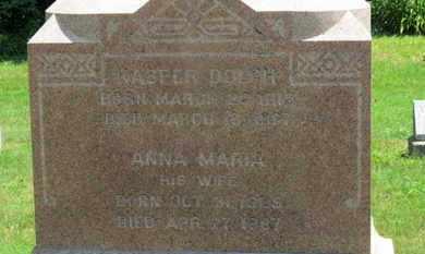 DOLCH, ANNA MARIA - Medina County, Ohio | ANNA MARIA DOLCH - Ohio Gravestone Photos