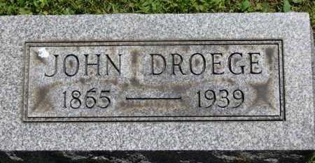 DROEGE, JOHN - Medina County, Ohio | JOHN DROEGE - Ohio Gravestone Photos