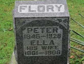 FLORY, PETER - Medina County, Ohio | PETER FLORY - Ohio Gravestone Photos