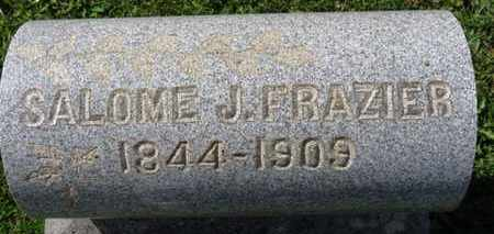 FRAZIER, SALOME J. - Medina County, Ohio | SALOME J. FRAZIER - Ohio Gravestone Photos
