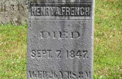FRENCH, HENRY A. - Medina County, Ohio | HENRY A. FRENCH - Ohio Gravestone Photos