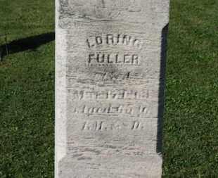 FULLER, LORING - Medina County, Ohio | LORING FULLER - Ohio Gravestone Photos