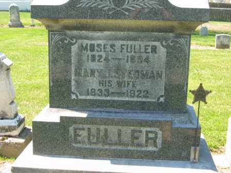 FULLER, MARY J. - Medina County, Ohio | MARY J. FULLER - Ohio Gravestone Photos